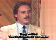 "Macek on ""Point of View"" TV show circa July 1986"