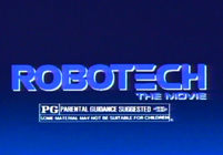"""Robotech the movie"" TV commercial"